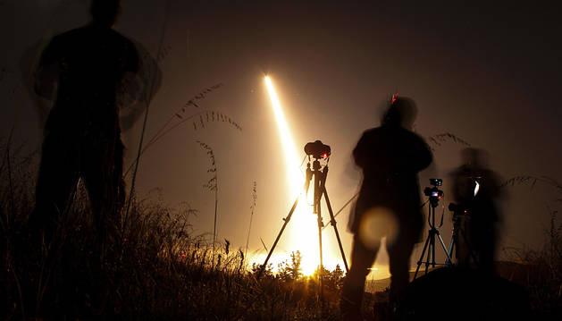EE UU realiza un ensayo con un misil balístico intercontinental