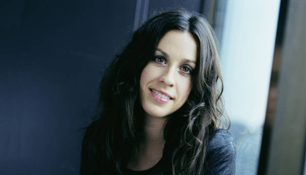 La cantante canadiense Alanis Morissette