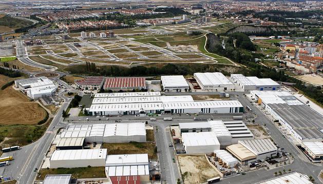 Causan daños por 12.000 euros en una empresa de Huarte y se dan a la fuga
