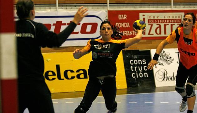 Carmen Martín, en el centro.