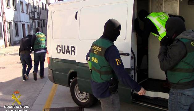Operación de la Guardia Civil