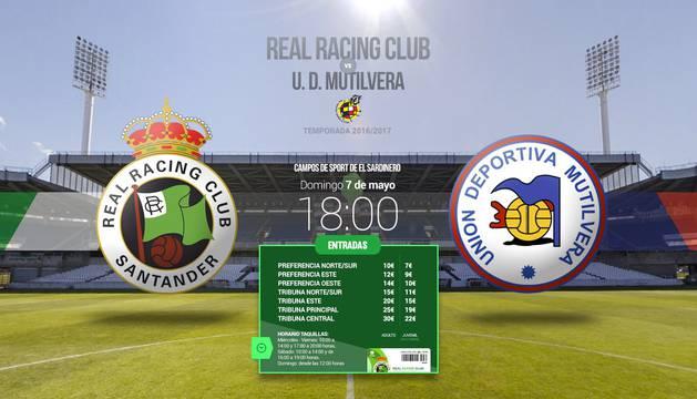 El Racing-Mutilvera se jugará el domingo a las 18 horas.