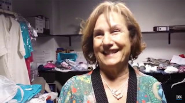 María Cemboráin, de 68 años, sufre su segundo cáncer de mama