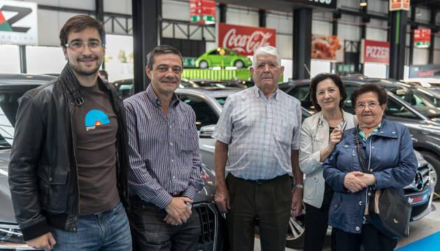 Javier Samanes, Gonzalo Samanes, Francisco Pascual, Mary Pascual y Gabriela Martín.