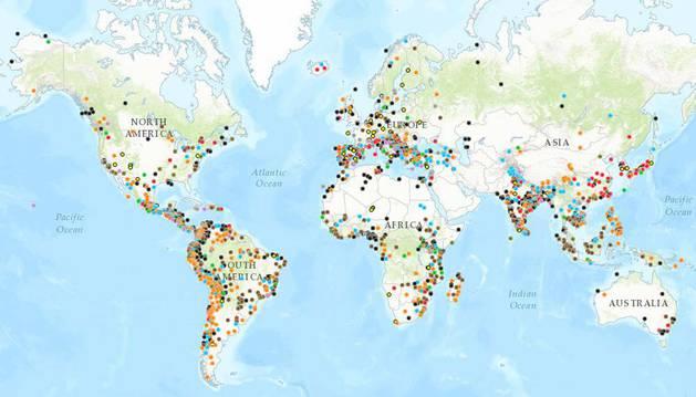 Imagen del Atlas de Justicia Ambiental.