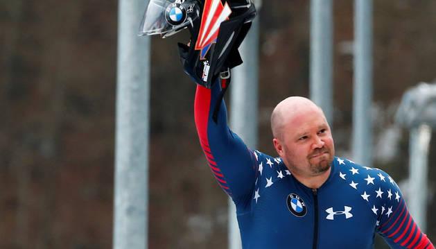 Steven Holcomb, medallista olímpico de bobsleigh.