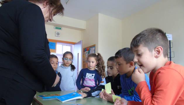 Marcapáginas, intercambio de libros y lectura en parejas en Los Sauces-Sahats