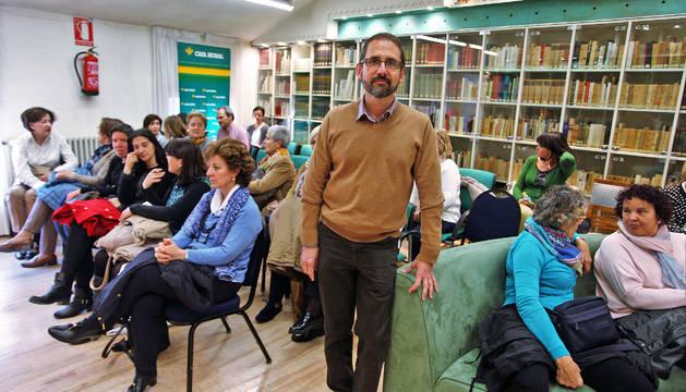 Joaquín Berges presentó en Pamplona Una sola palabra
