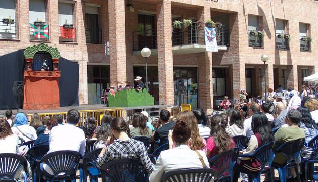 Premios titiriteros en la última jornada de un festival con una buena respuesta de público