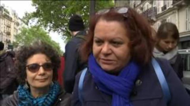 Primera protesta contra Macron tras ser elegido presidente