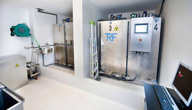 Sistema de gestión controlada de los residuos radiactivos.