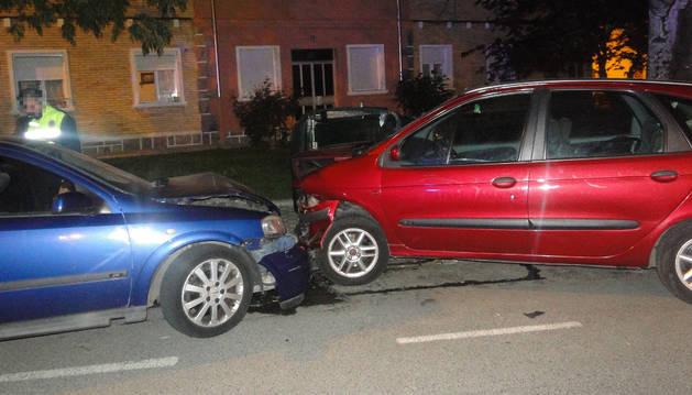 Accidente en la calle San Cristóbal de la Chantrea.