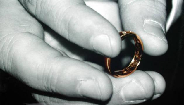 La sorprendente petición de matrimonio de un joven a su novia pamplonesa
