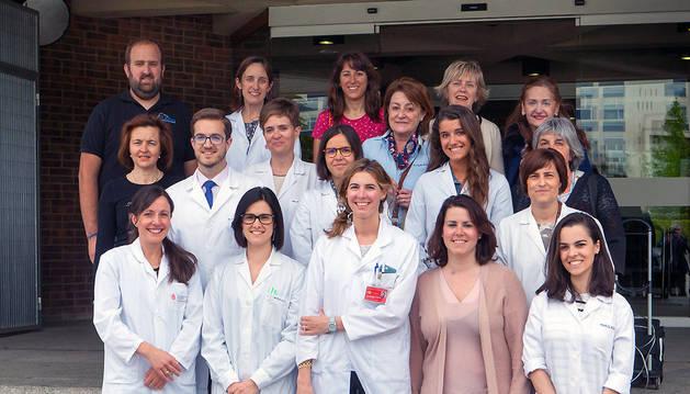 Investigadores de la Universidad de Navarra y del Servicio Navarro de Salud que participan en el proyecto Seguimiento de Escolares Navarros para un Desarrollo Óptimo.
