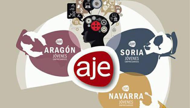 foto del cartel del II Encuentro de Jóvenes Empresarios en Tudela