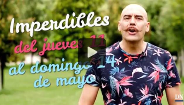 Agenda cultural de Navarra en vídeo hasta el domingo 14 de mayo