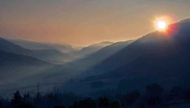 Vista del Valle del Roncal.