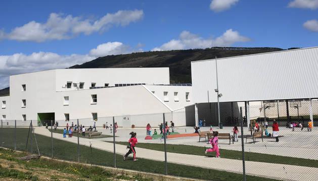 Imagen de la zona de Infantil del colegio de Buztintxuri.