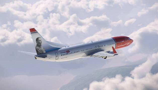 El diseño de cola del avión ya se ha repetido con otros autores.