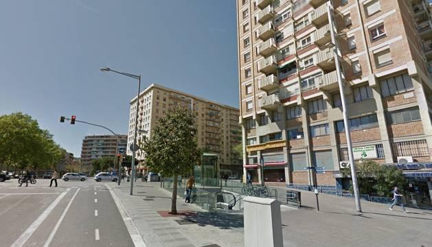 La calle Garcilaso en Barcelona