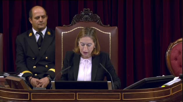 El Congreso aprueba sacar el cadáver de Franco del Valle de los Caídos