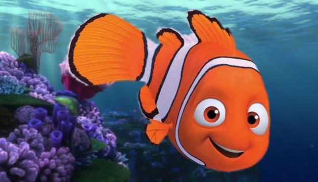 Una escena de 'Buscando a Nemo', protagonizada por un pez payaso
