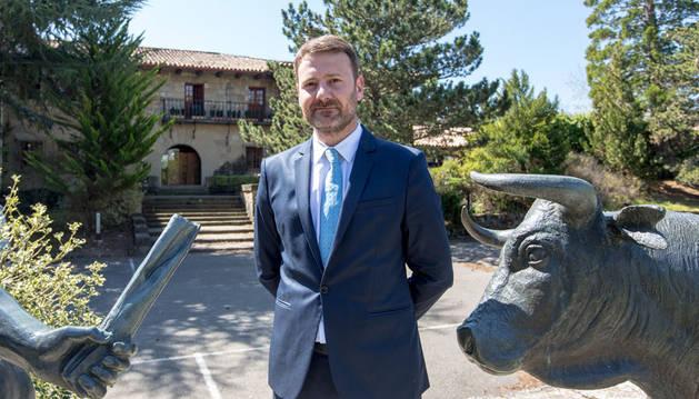 foto de Joseba Fagoaga, director del nuevo Hotel El Toro