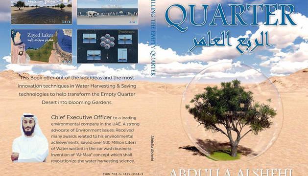 Abdulá Alshehiplasmó su idea en ellibro 'Filling the empty quarter'.
