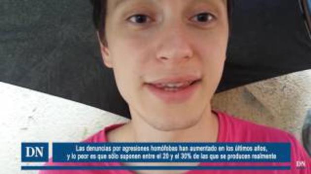 Un joven pamplonés homosexual aborda la situación del colectivo LGTB