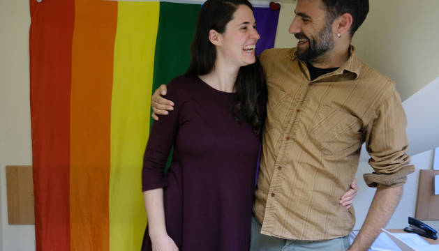 Erika Salvatierra y Xabier Sánchez, sexólogos