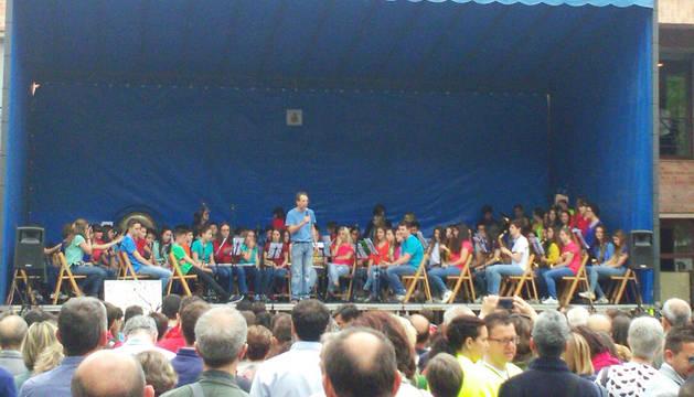 Barañáin se viste con sonidos en el Día de las Escuelas de Música de Navarra