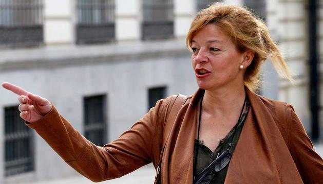 Ana Garrido, denunciante de la trama Gürtel en una imagen de archivo.