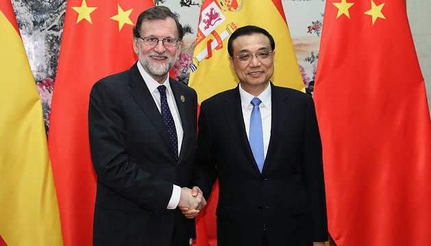 Mariano Rajoy alardea de la fortaleza económica de España ante XI Jinping