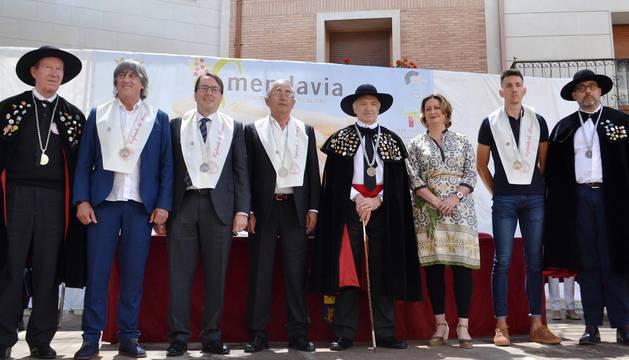 La fiesta del espárrago en Mendavia