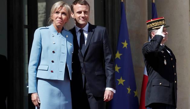 Macron, proclamado presidente de Francia