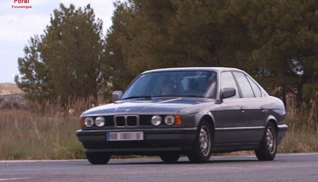Foto del vehículo captado por el radar.