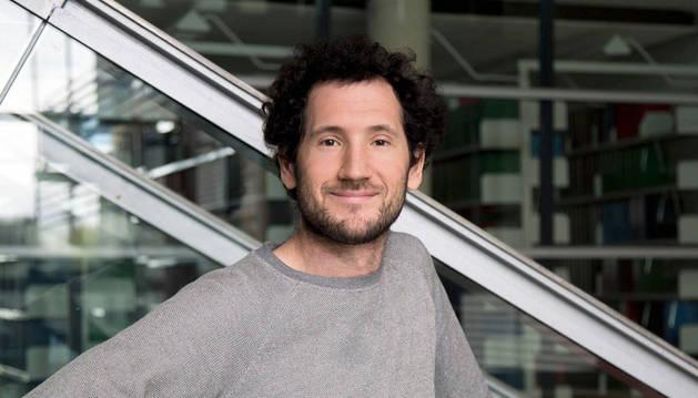 El físico pamplonés Jaime Agudo Canalejo.