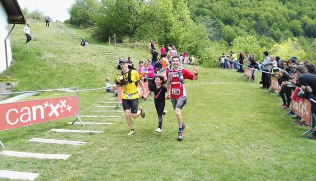 La Selva de Irati fue el escenario del Campeonato Navarro individual de carreras por montaña o trail.
