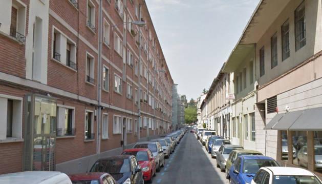 Imagen de la calle Santa Marta de Pamplona.