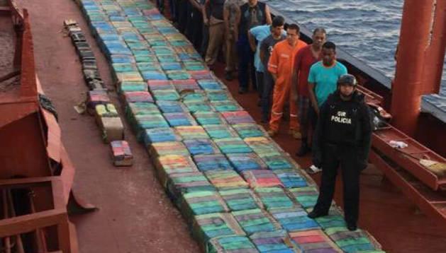Golpe al narcotráfico, con 5,5 toneladas de cocaína intervenidas y 24 detenidos
