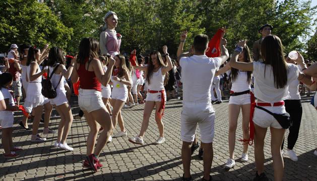 Talleres dirigidos a conseguir un Barañáin amable para las mujeres en fiestas