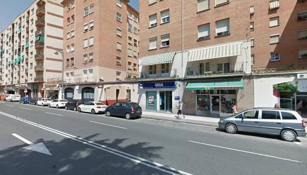 Imagen de la calle Murrieta de Logroño.