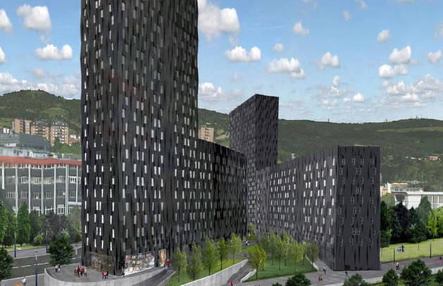 foto de La Torre Bolueta en Bilbao será el edificio verde más alto del mundo.