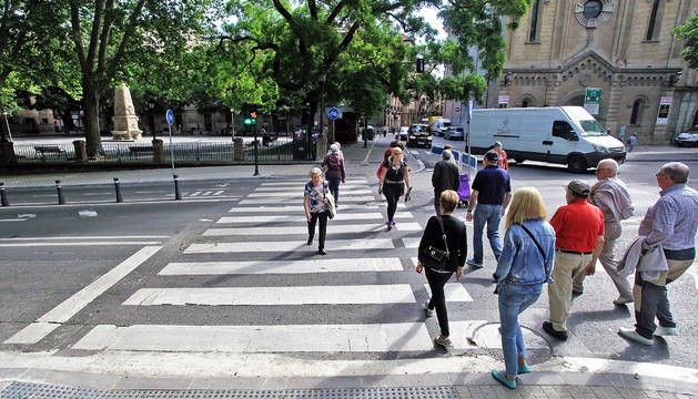Las calles Chinchilla, Alhóndiga, Vínculo y Bosquecillo cerrarán el paso al tráfico rodado