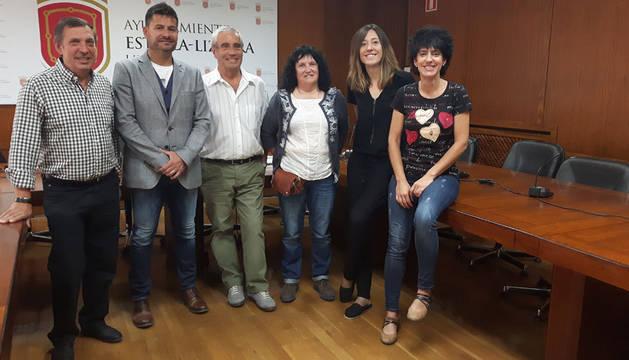 Félix Álvarez, Manel Muñoz, Miguel Ángel Erice, Carmen Lizarraga, Marta Astiz y Marian Ganuza.