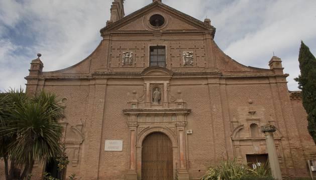 Imagen de la fachada del Museo de Arrese de Corella.