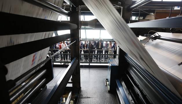 Imágenes del evento organizado por Diario de Navarra en el que han participado medio centenar de empresarios de las grandes industrias navarras.
