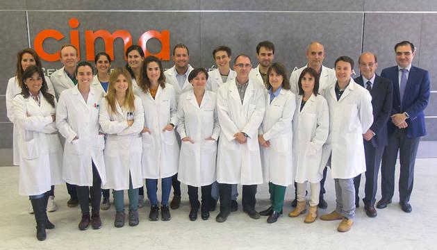 Investigadores del CIMA y de la compañía biotecnológica francesa Vivet Therapeutics (Vivet).
