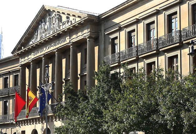 Palacio de la Diputación de Navarra.