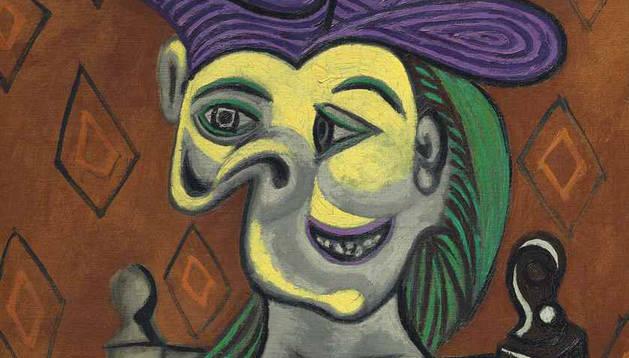 'Mujer sentada, vestido azul' de Picasso, vendido por 45 millones de dólares